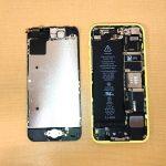 上越市 iPhone5c バッテリー交換